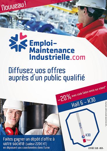 Maintenance expo : diffusez votre offres d'emploi auprès d'un public qualifié