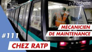 Découvrir le métier de Mécanicien de Maintenance à la RATP