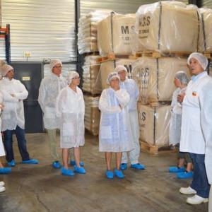 1h de visite d'usine inclus au programme de la journée
