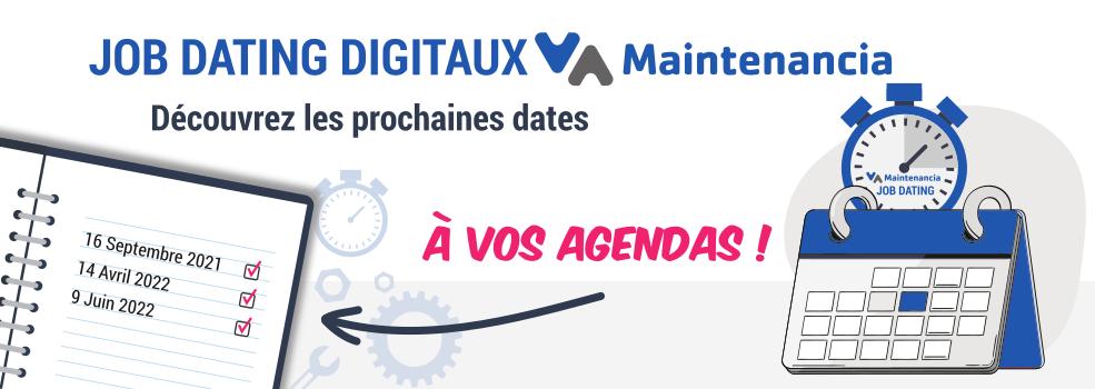 Job dating digital Métiers de la Maintenance