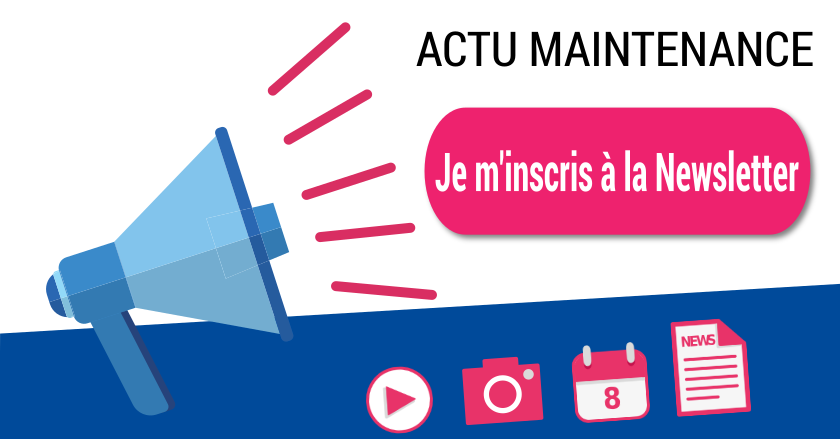 Inscription newsletter actualités maintenance