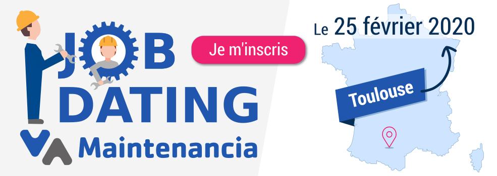 Job-Dating Maintenancia : Toulouse (31) - 25 février 2020